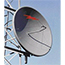 AND 8' Dish Antenna, 5.7-6.4GHz, Radome, SOI