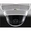AXIS P3304 Fixed Dome Network Camera with discreet and tamper-resistant casing. Varifocal 2.8-10 mm lens. Configurable H.264 and Motion JPEG streams; max HDTV 720p or 1MP resolution at 30 fps. WDR. PoE. Includes power supply