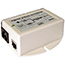 PoE Power Supply/Inserter (Power Injector), 802.3af, Input 90-264VAC, 48VDC output voltage at 0.35A, 16.8W. Sale price while supplies last