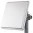 MARS 22dBi Dual Polarization / Dual Slant Subscriber Panel Antenna, 3.3-3.8GHz, MNT-22 Mounting Kit Included