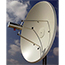 MTI High Performance Dual Polarity Parabolic Dish Antenna, 4.9-6.0GHz, Gain: 29 dBi, 2'. Mounting Kit is included