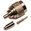 N-Male Connector for RG178 coaxial cable, Sale price while supplies last