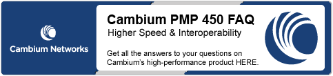 Cambium PMP 450 Announcement and FAQ