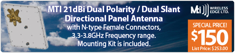 MTI Dual Pol Panel Sale