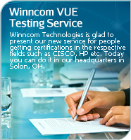VUE Winncom Testing Center