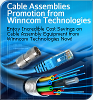 Cable Assembly Promotion from Winncom Technologies