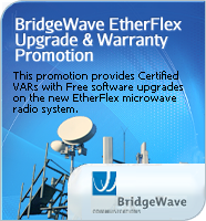 BridgeWave Q3 2014 EtherFlex Certified VAR Promotion