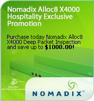 Nomadix Alloc8 X4000 Hospitality Exclusive Promotion