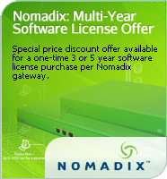 Nomadix Multi-Year Software License Offer