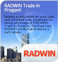 RADWIN Trade-In Promotion
