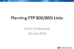 Winncom Presents Planning PTP800i with Cambium Networks Link Planner